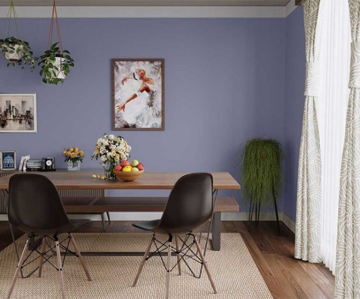 Try Mulberry House Paint Colour Shades For Walls Asian Paints