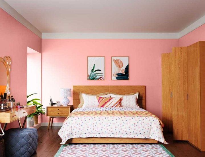 Try Pale Rose House Paint Colour Shades For Walls Asian Paints