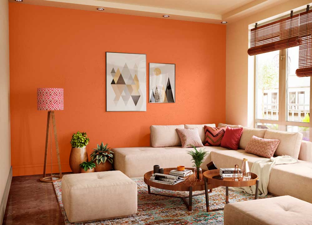 Try Simple Sienna N House Paint Colour Shades For Walls Asian Paints