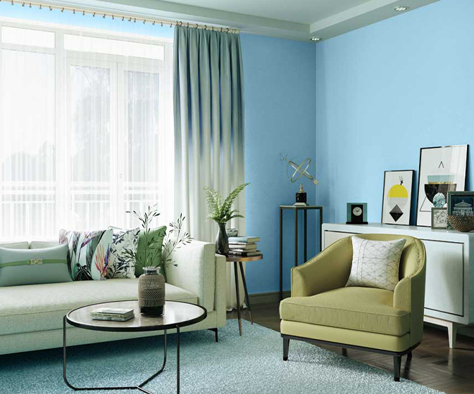 Try Young Boy Blue House Paint Colour Shades For Walls Asian Paints