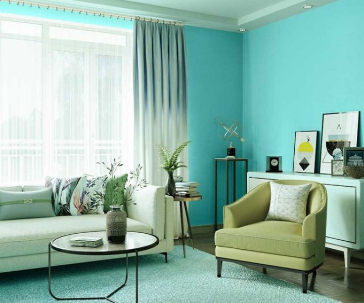 Try Turquoise Treat House Paint Colour Shades For Walls Asian Paints