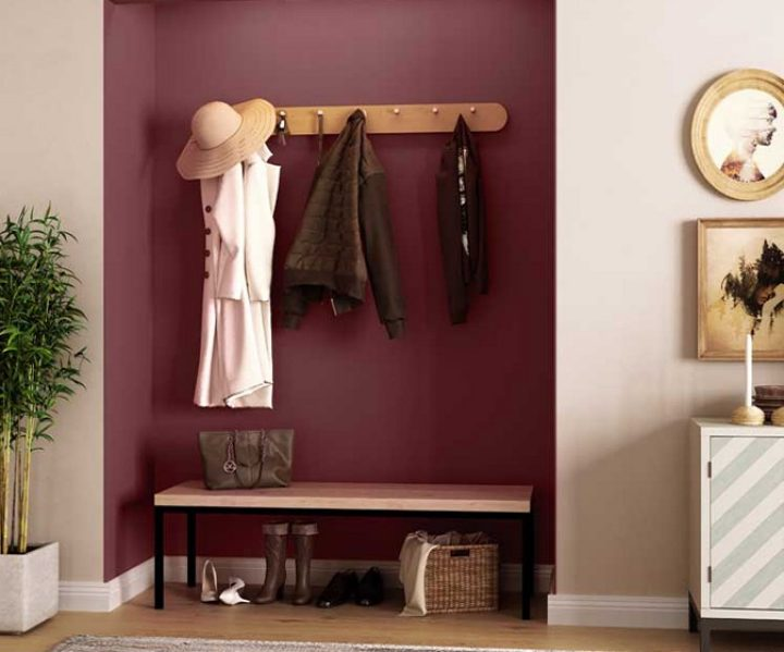 Try Maroon Mood N House Paint Colour Shades For Walls Asian Paints