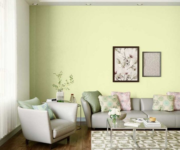 Try Limon House Paint Colour Shades For Walls Asian Paints