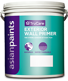 Trucare Exterior Wall Primer With Superior Adhesion By Asian Paints
