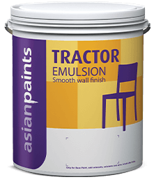 Tractor Emulsion Most Affordable Interior Wall Paint Asian Paints