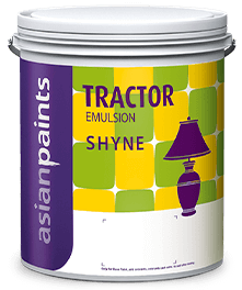 Tractor Emulsion Shyne For Soft Sheen Wall Finish Asian Paints