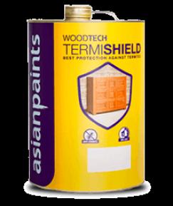 Woodtech Termishield Wood Paint - Asian Paints