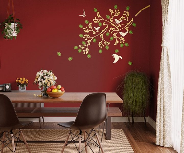 Spring Diaries Online Wall Stencil Design Patterns Asian Paints