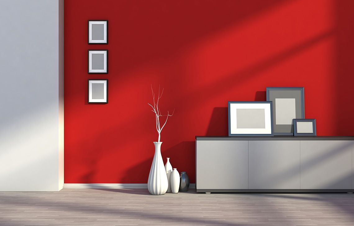 Madder Red Wall Colour