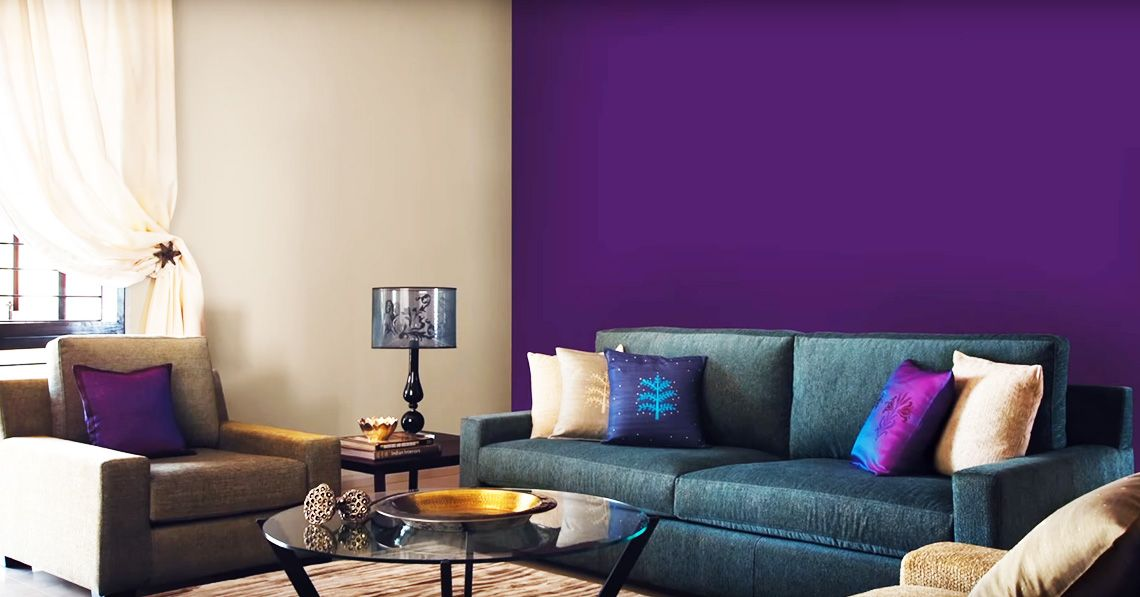 Asian paints royale colour shades for living room for Royale play designs living room