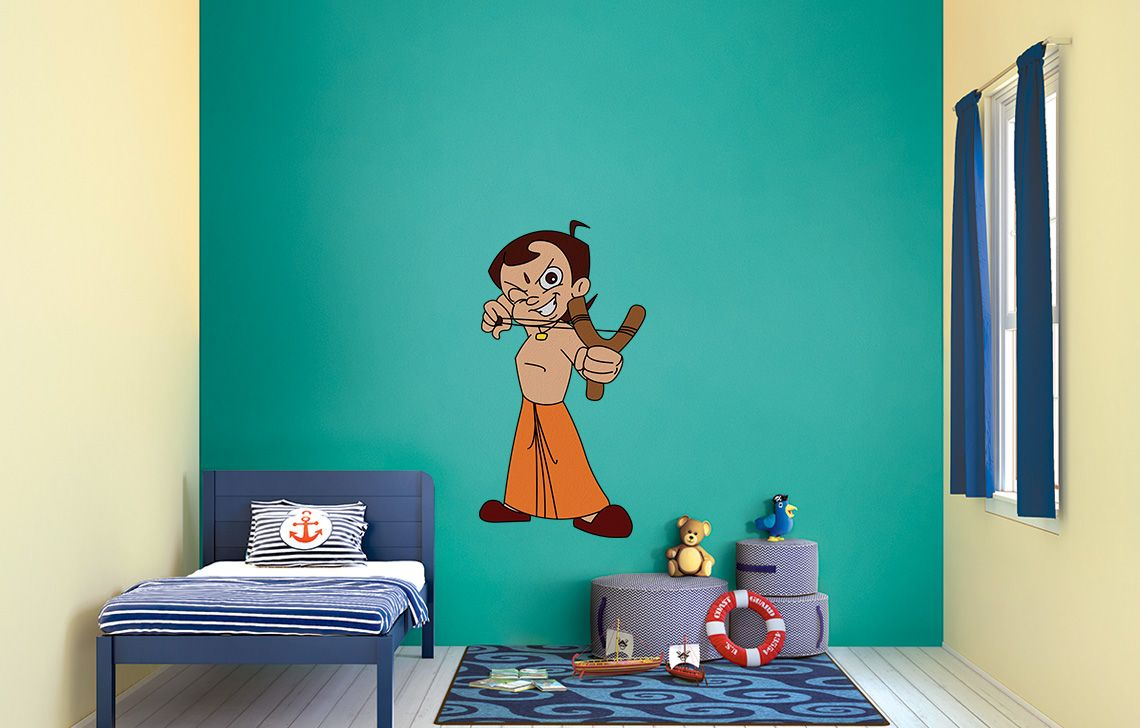 wall paintings design. chhota bheem collection Kid s Room Wall Painting Design Ideas  Kids World D cor Asian Paints