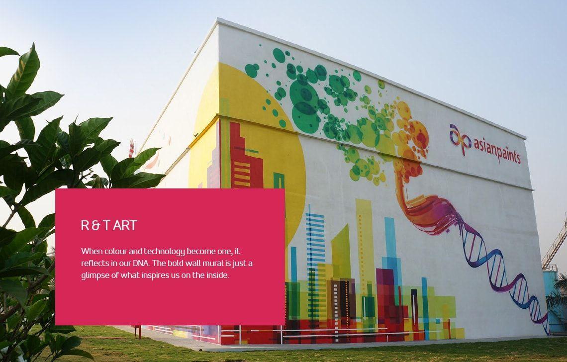 international wall art & Home Exterior Wall Patterns - Ultima Wall Art - Asian Paints