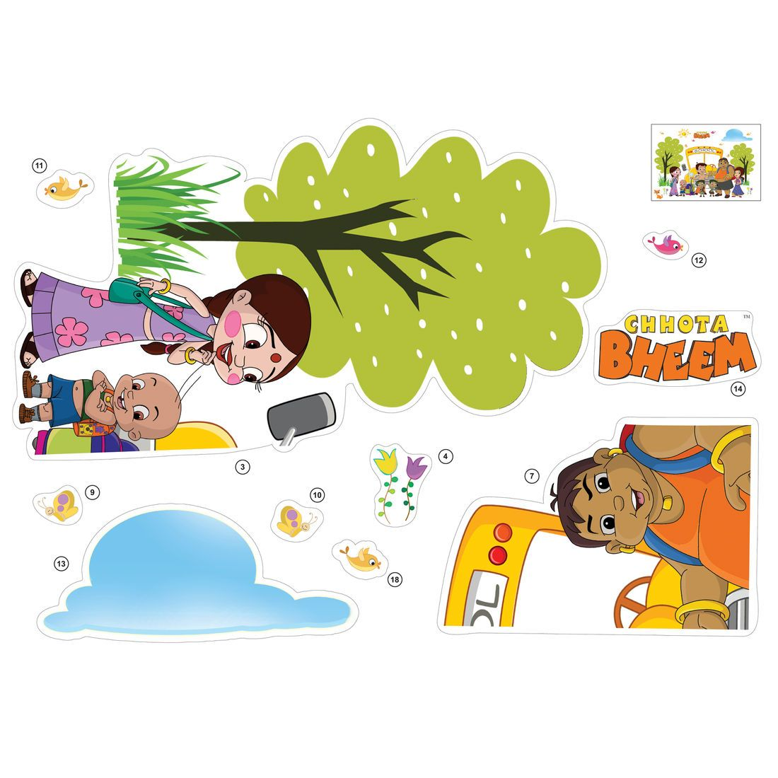 Chhota Bheem Back To School