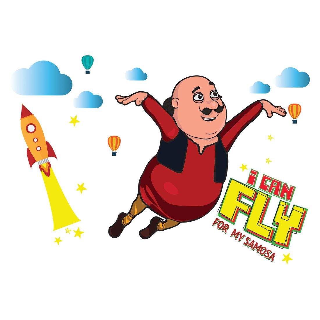 Motu Patlu I can Fly