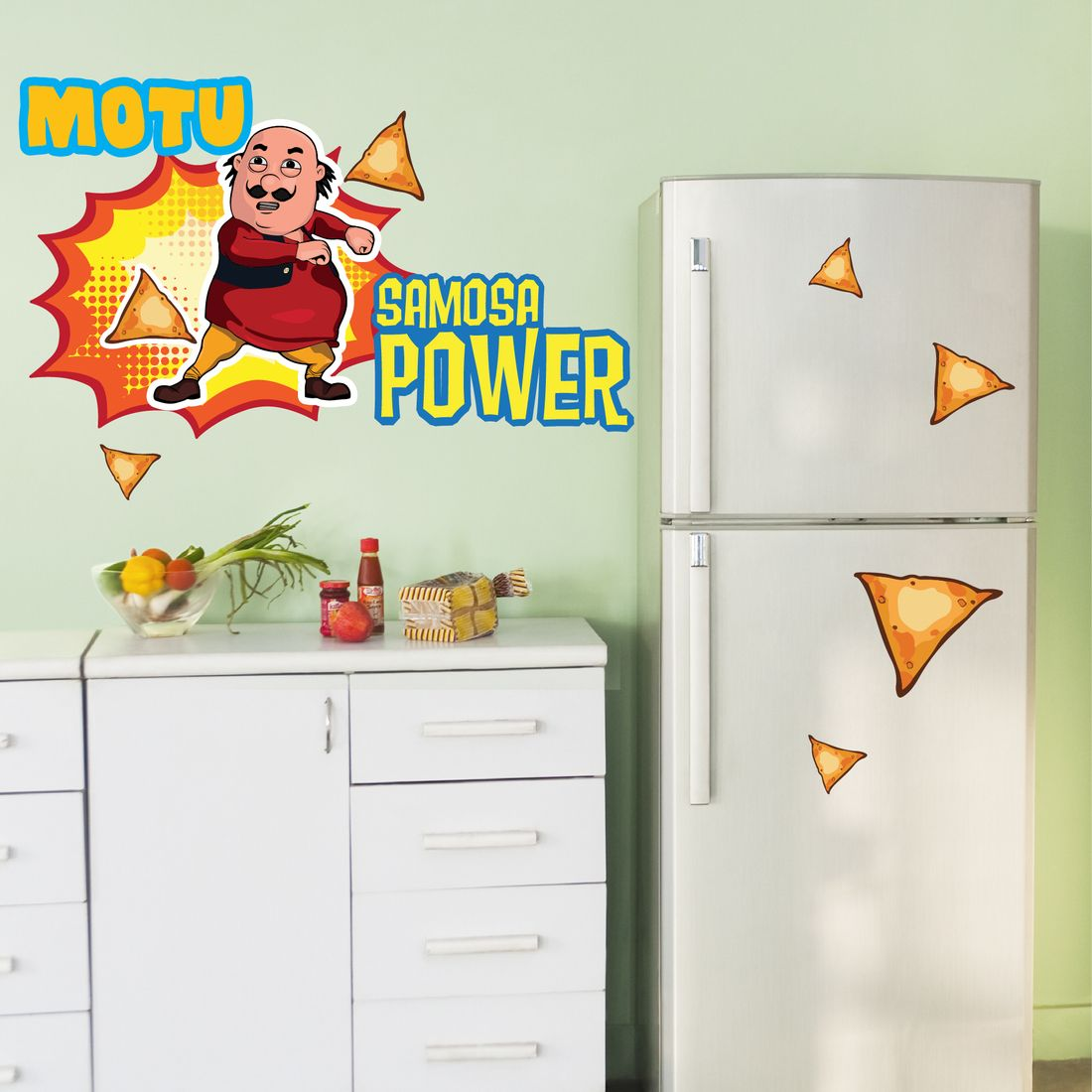 Motu Patlu Samosa Power