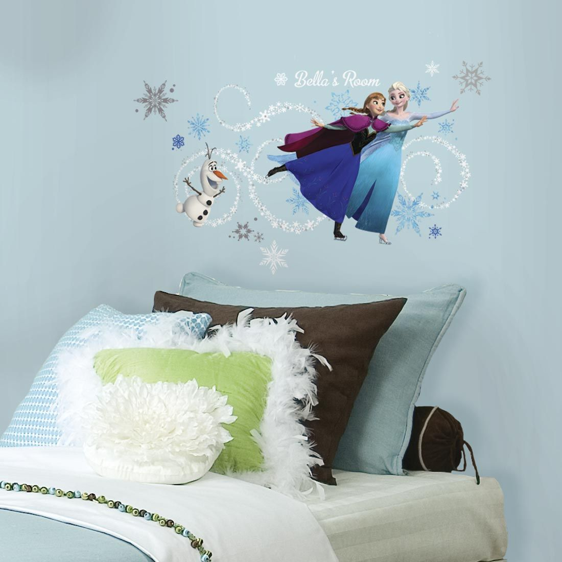 Original Frozen Headboard Elsa Anna and Olaf
