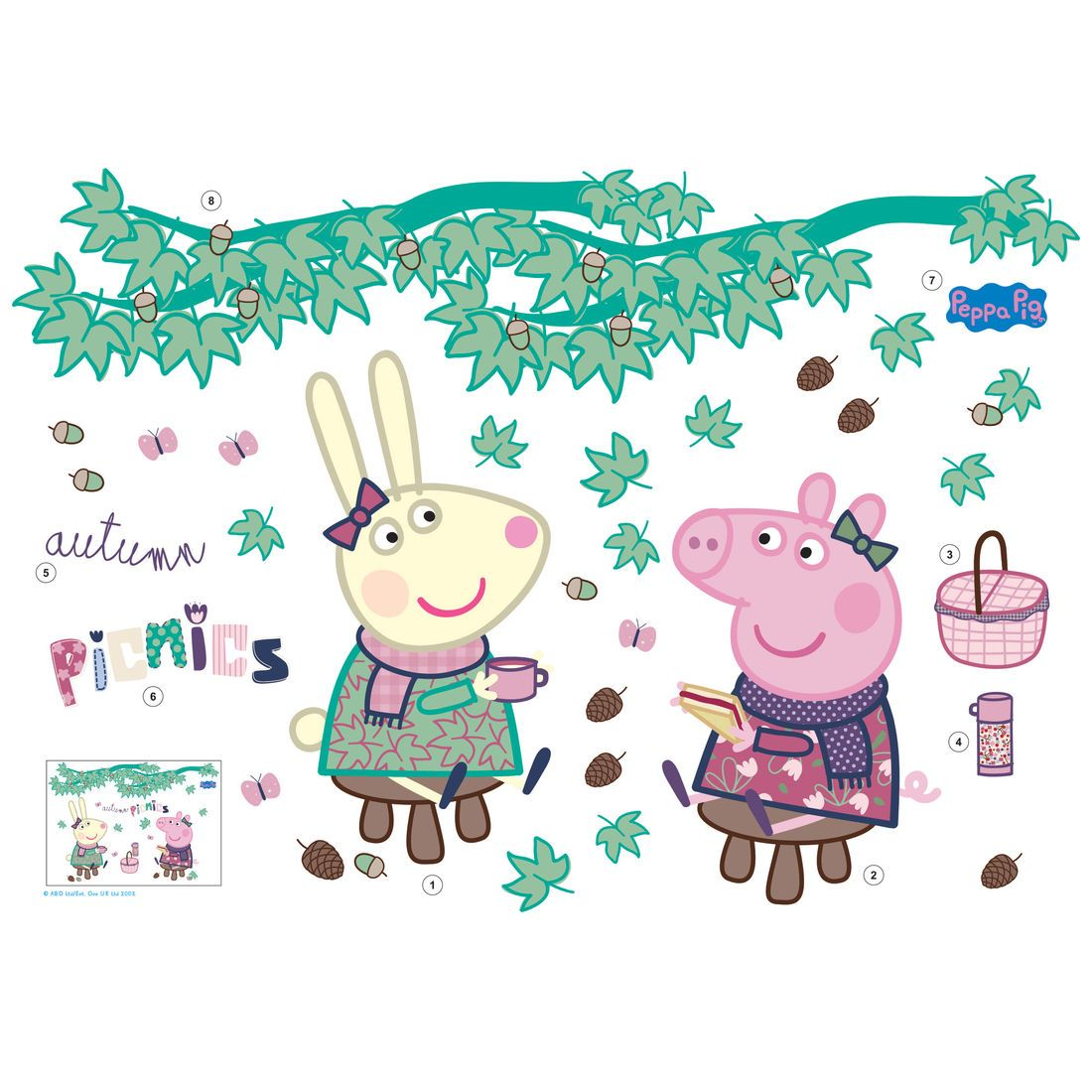 Peppa Pig Autumn Picnic
