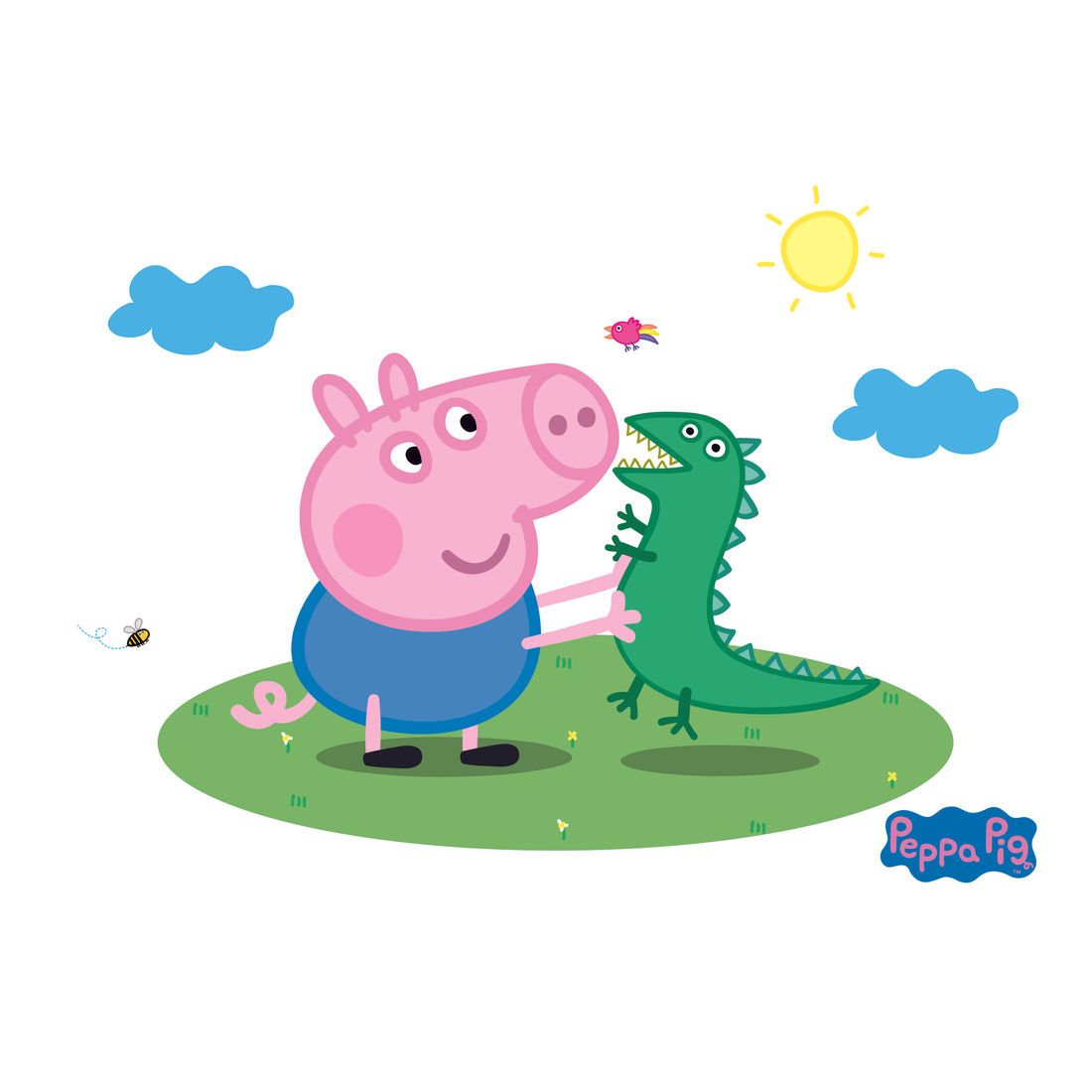 Peppa Pig Captain George with Mr.Dinosaur