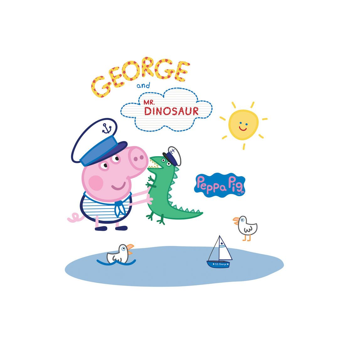 Peppa Pig Meet Captain George