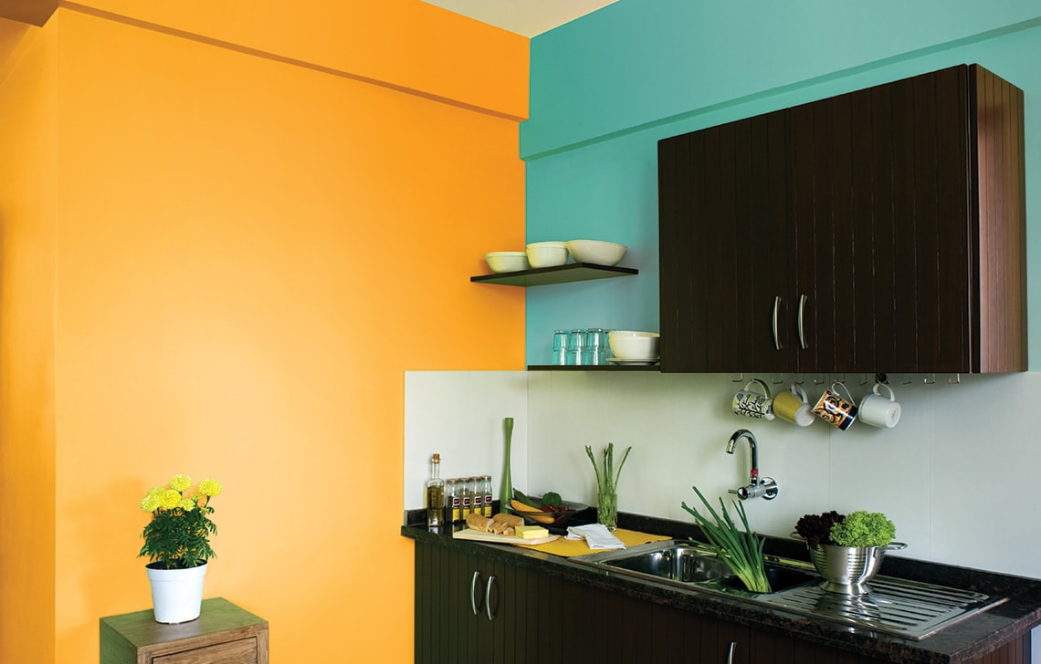 Paint Colours for Home with Colour consultancy@home - Asian Paints